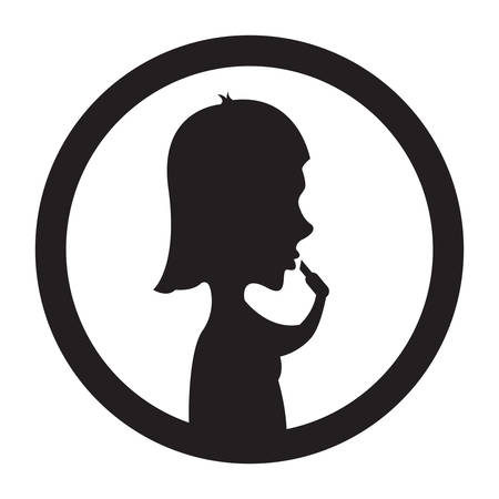 applying lipstick: silhouette of woman applying lipstick