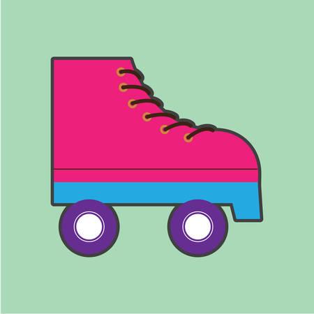 roller: roller skates