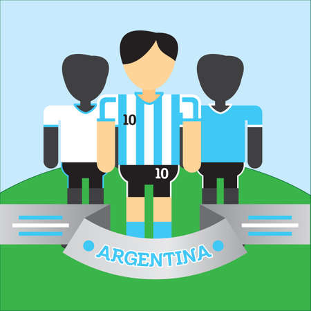 soccer players: argentina soccer players