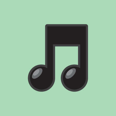 musical note: musical note Illustration