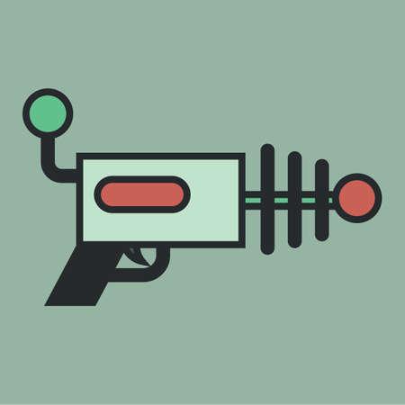 space gun Illustration