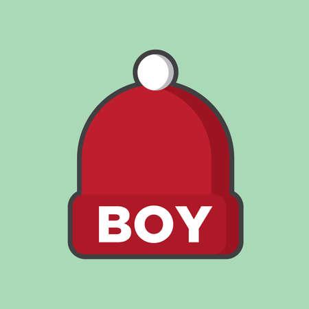 woollen: knitted boy cap