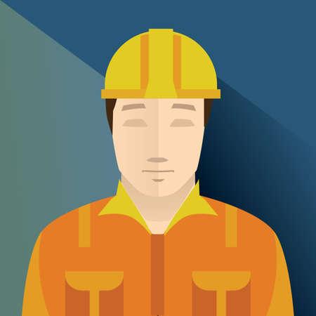 hard cap: construction worker