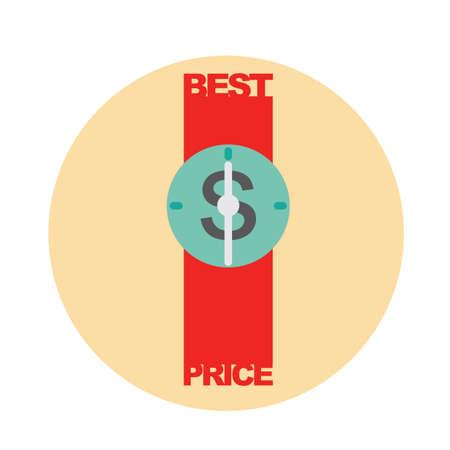 best price: best price Illustration