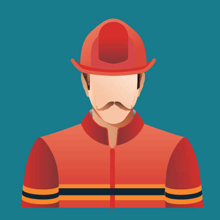 fireman: fireman Illustration