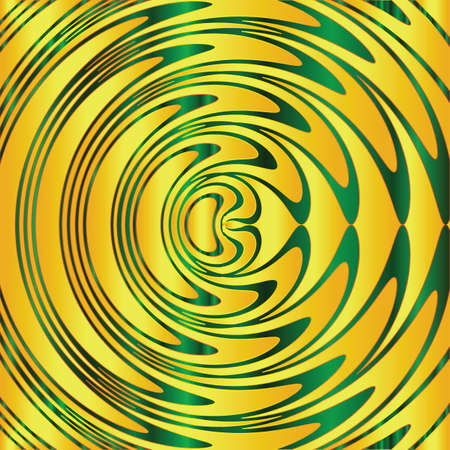 circular water ripple: abstract background Illustration