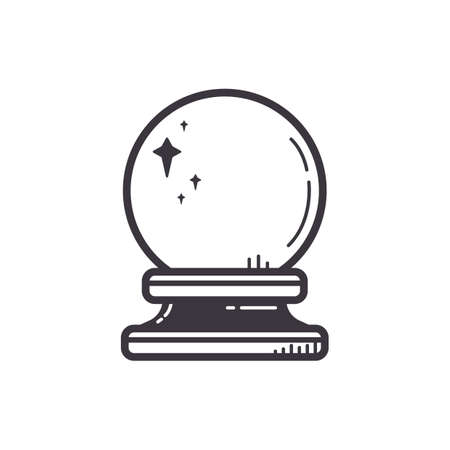 Crystal Ball Standard-Bild - 53231384