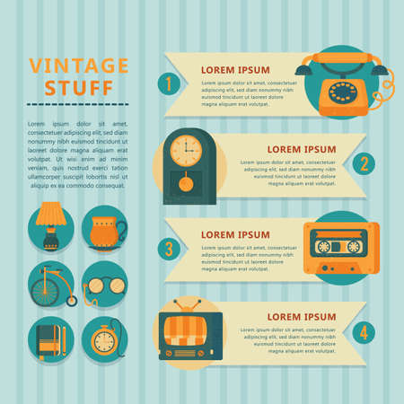 stuff: infographic of vintage stuff