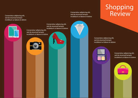 review: infographic of shopping review