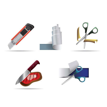 cutting tools: set of cutting tools