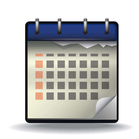event planner: calendar Illustration