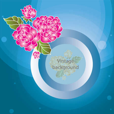 textspace: floral background with copyspace