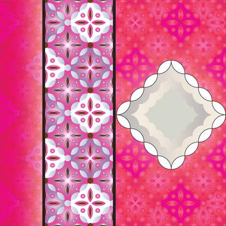 copyspace: batik background with copyspace