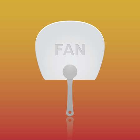 handheld: hand-held fan