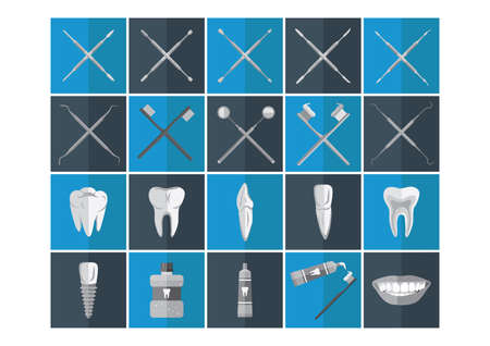 premolar: dental icon collection