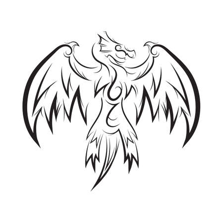 pterosaur: tattoo design