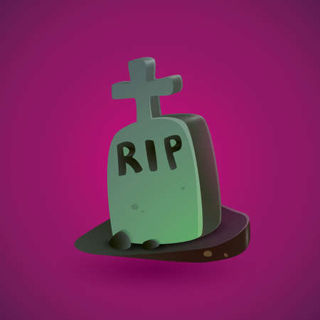 rest in peace: tombstone