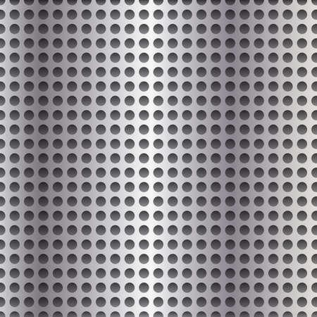 Metall-Hintergrund mit Löchern