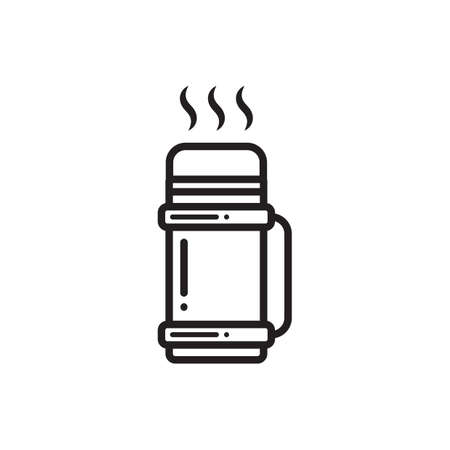 insulated: insulated bottle Illustration