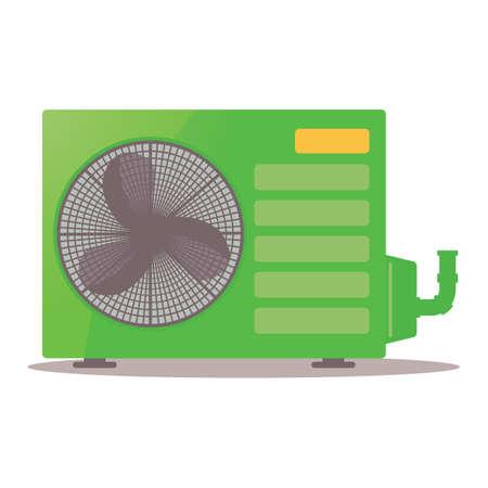 compresor: compresor de aire acondicionado Vectores