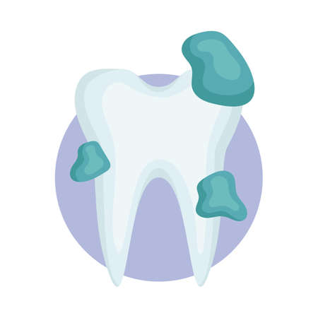 cavities: germ infected tooth