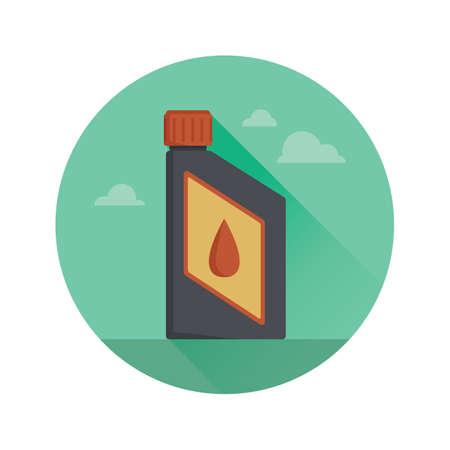 gallon: oil jerrycan Illustration