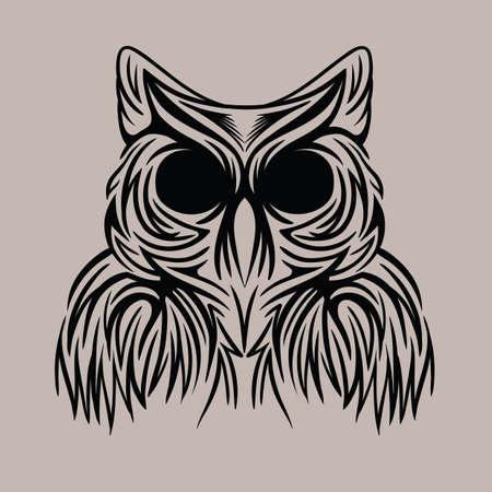 tattoo design: owl tattoo design