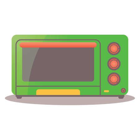 toaster: toaster oven Illustration