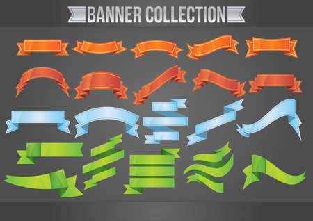 empty: collection of empty banners