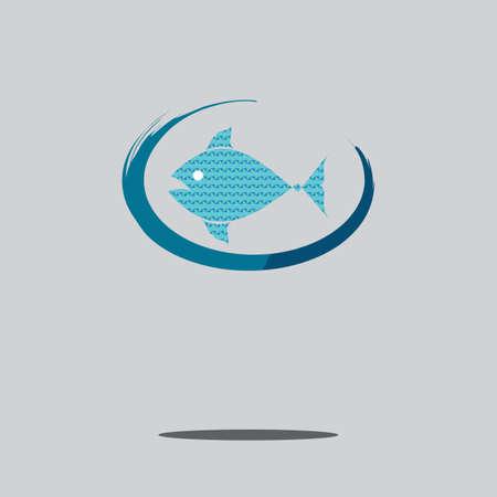 logo poisson: logo de poisson