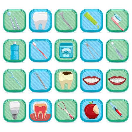 cavity braces: dental care collection