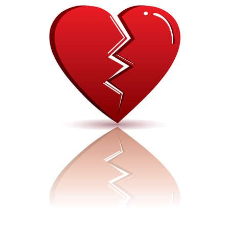 feb: broken heart