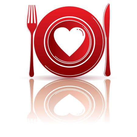 dining set: valentine dining set