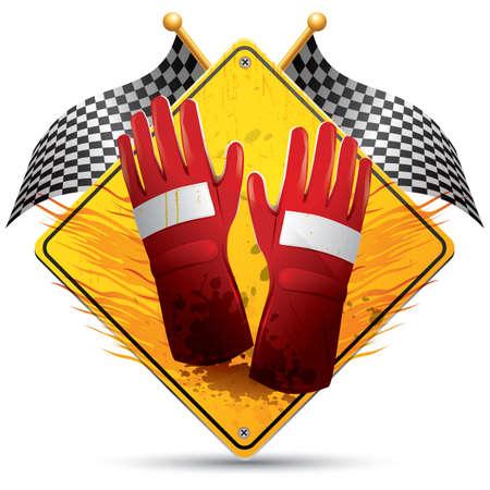 leather gloves: gloves