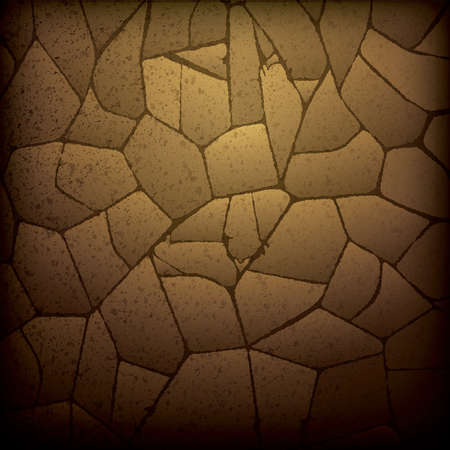dry: dry cracked land background Illustration