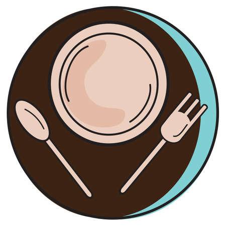tableware: western tableware Illustration