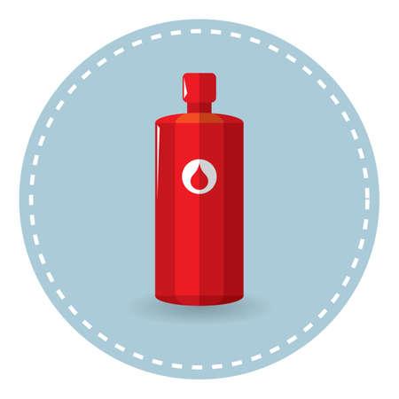 scent: perfume bottle Illustration