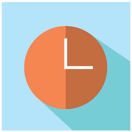 halt: time icon Illustration