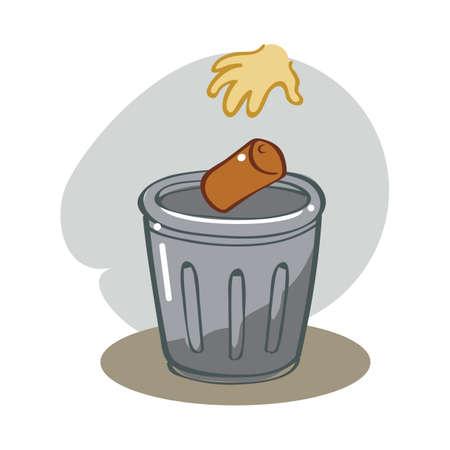 recycle bin: recycle bin Illustration
