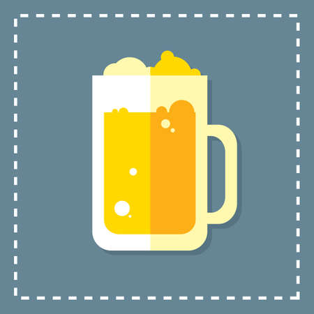 froth: beer mug