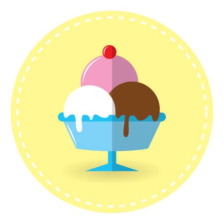 yummy: sundae ice cream
