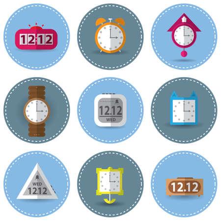 punctuality: Conjunto de relojes