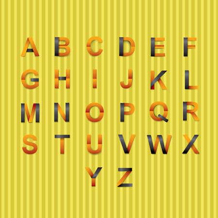 u  s  a: paper alphabet collection