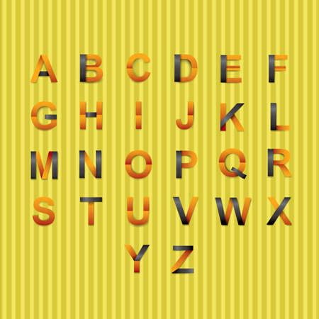 paper alphabet collection