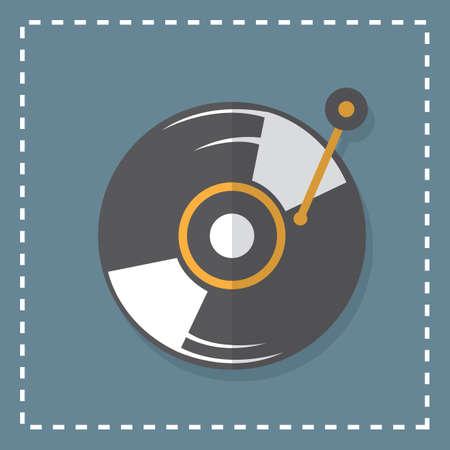 grabadora: grabador de vinilo Vectores