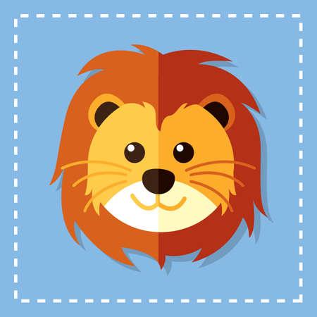 carnivores: lion Illustration