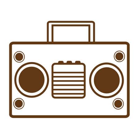 grabadora: grabador de cassette