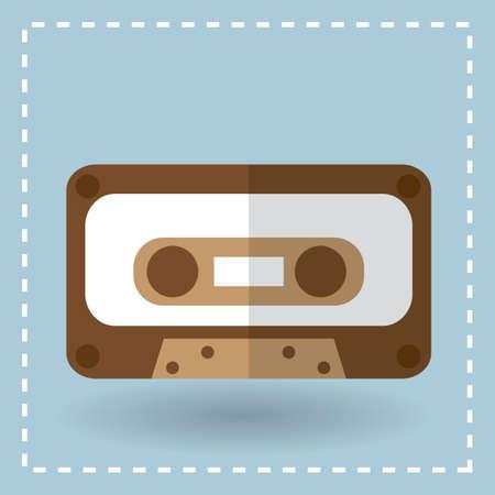 casette audio Vecteurs