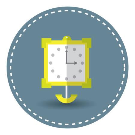 pendulum: pendulum clock Illustration