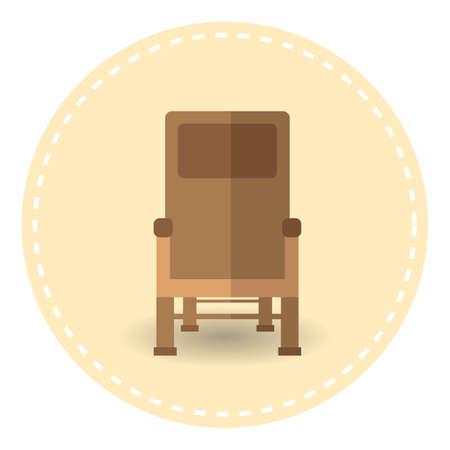 luxuries: chair Illustration